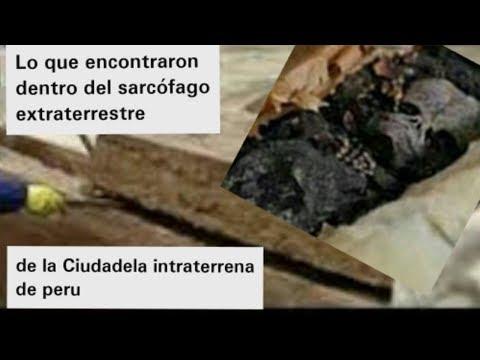 SACAN LOS PRIMEROS SARCOFAGOS DE LA CIUDADELA EXTRATERRESTRE DE PERU