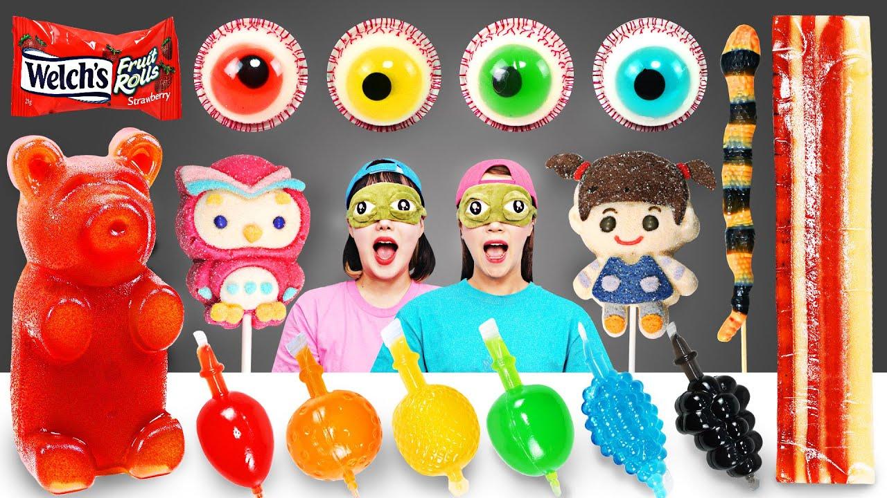 Jelly Mukbang challenge by yomi yami
