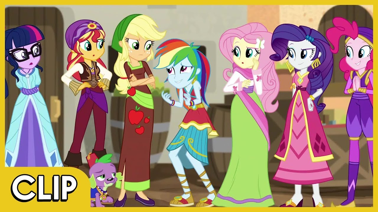 Mane 7 in the Daring Do Movie - MLP: EG Specials [Movie ... My Little Pony Coloring Pages Pinkie Pie
