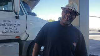 Interviewing OG truck driver Papa Bear (Trucker brown's father). Why he went to Swift Transportation