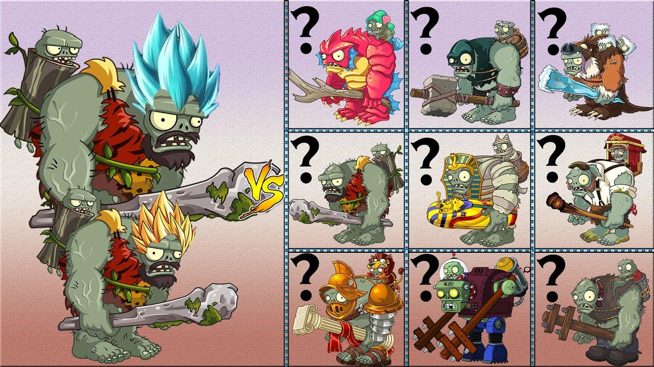 Plants Vs Zombies 2 v8.3.1 - Dino Gagantuar Up Power Vs Gagantuars