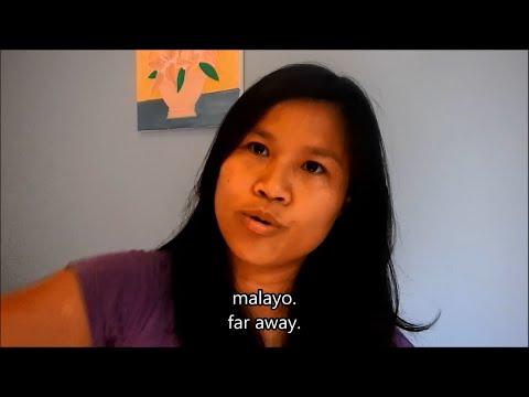 Learn Tagalog (Filipino) Lesson 4 (Part 1): an/an/the (ang/yung); English Tagalog subtitles