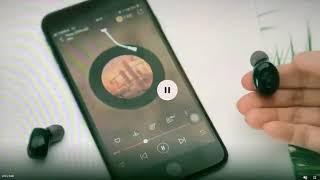 통화음질좋은 차량용 블루투스 무선 이어폰 TWS5.0