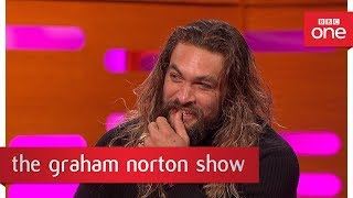 connectYoutube - Jason Momoa from Game of Thrones speaks Dothraki - The Graham Norton Show: 2017 - BBC One