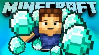 TOO MANY DIAMONDS! (Minecraft Hunger Games with Preston and Woofless!) #57