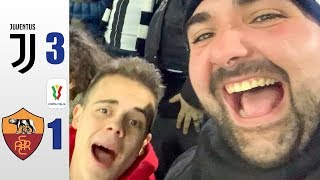 SI VÀ IN SEMIFINALE! JUVENTUS 3-1 ROMA - COPPA ITALIA REACTION ALLO STADIUM w/OHM & ENRY