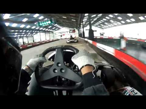 Marco Barbosa Go Karting at Capital Karts London