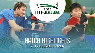 Тарас Мерзликин vs Xu Yingbin | Belarus Open 2019 (Group)