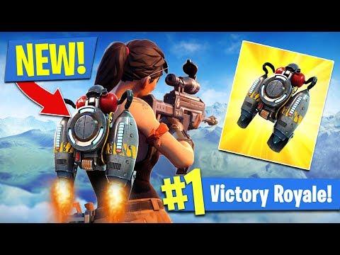 *NEW* JETPACK Update In Fortnite!! (Fortnite Battle Royale)