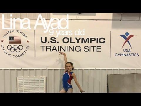 Angelina Ayad - Amazing 9 year old gymnast! (Level 9)