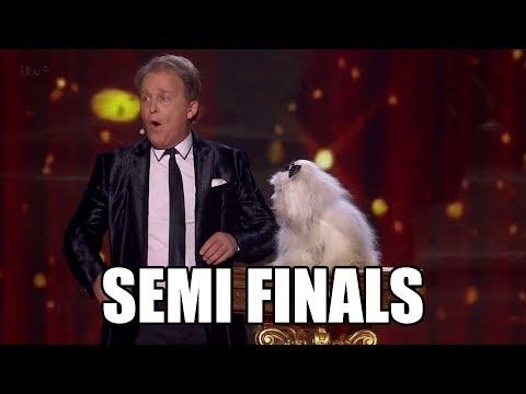 Marc Métral and talking dog Wendy Britain's Got Talent 2015 Semi Finals|GTF