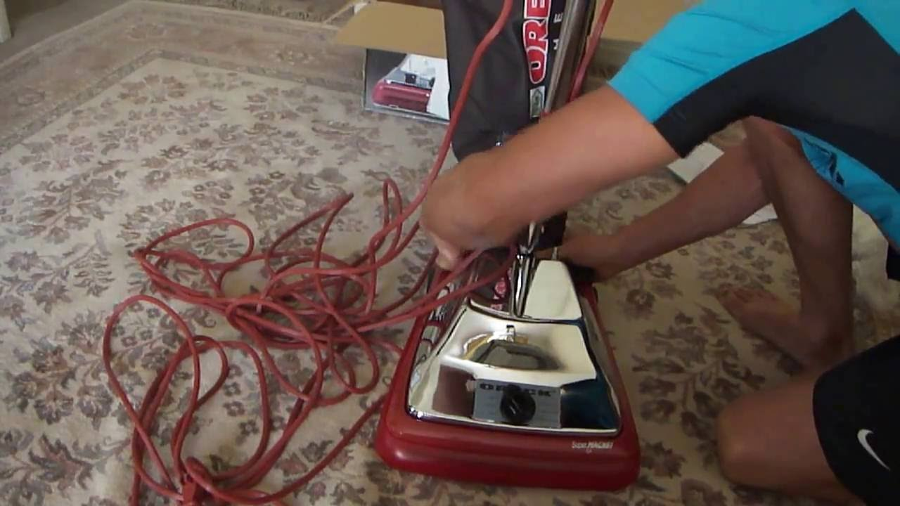 How Work New Oreck Commercial Vacuum Cleaner Or101h 870