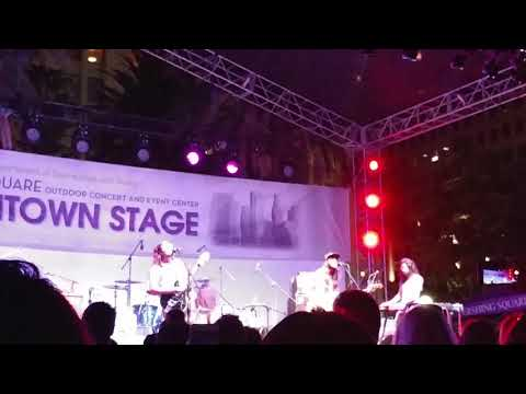 downtown LA pershing square mystery band