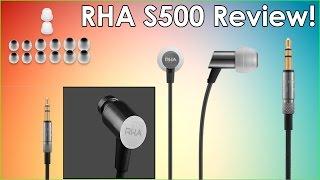 rHA - S500 Earphones Review! Amazing Sound quality !