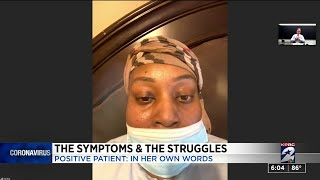 Houston-area woman with coronavirus describes symptoms, medical advice and isolation from family
