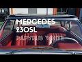 Mercedes-Benz 230SL Blanc Papyrus à vendre 1964