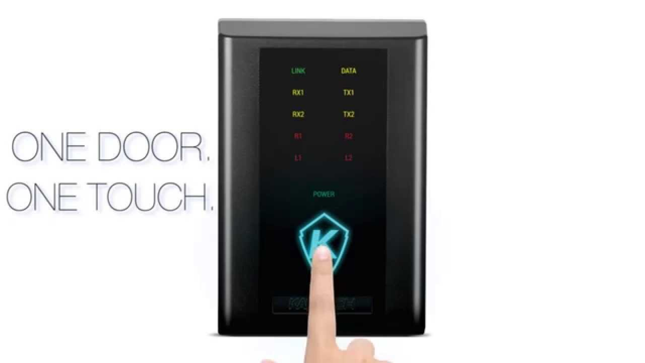 Kt 1 The Ethernet Ready One Door Controller Youtube