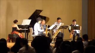 2016/5/5に行われた、下倉ドリームコンサート。 Trouvere Quartet 【トルヴェール・クヮルテット】 圧巻のパフォーマンス。 ピアノに小柳美奈子を迎...