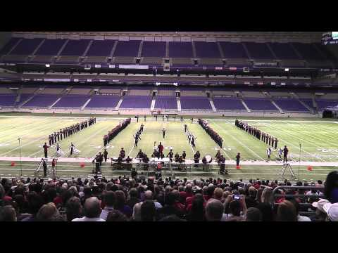 Lubbock Cooper High School Band 2012 - UIL 3A State Marching Band Contest