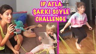ip atlarken şarkı syle challenge o ses trkiye ye dnd   bizim aile eğlenceli ocuk videoları