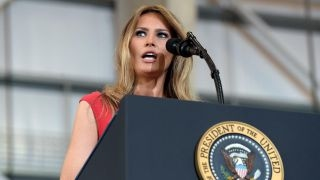 Left attacks first lady over reciting