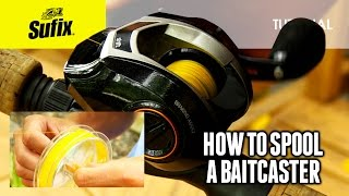 Rapala® HOW TO FISH: How to spool a baitcaster reel