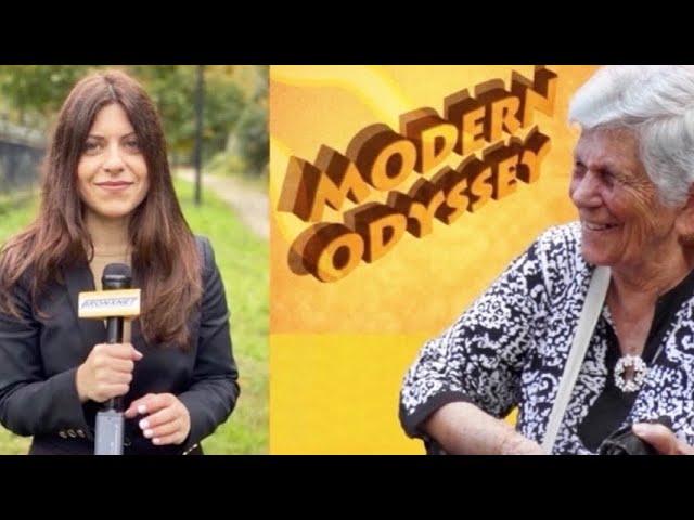 "Dr. Despina Afentouli of ""Modern Odyssey"" interviews Maria Mpitzilaiou, a woman of strength"