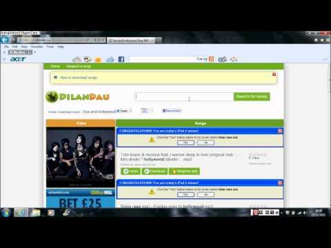 top 5 mp3 download sites!