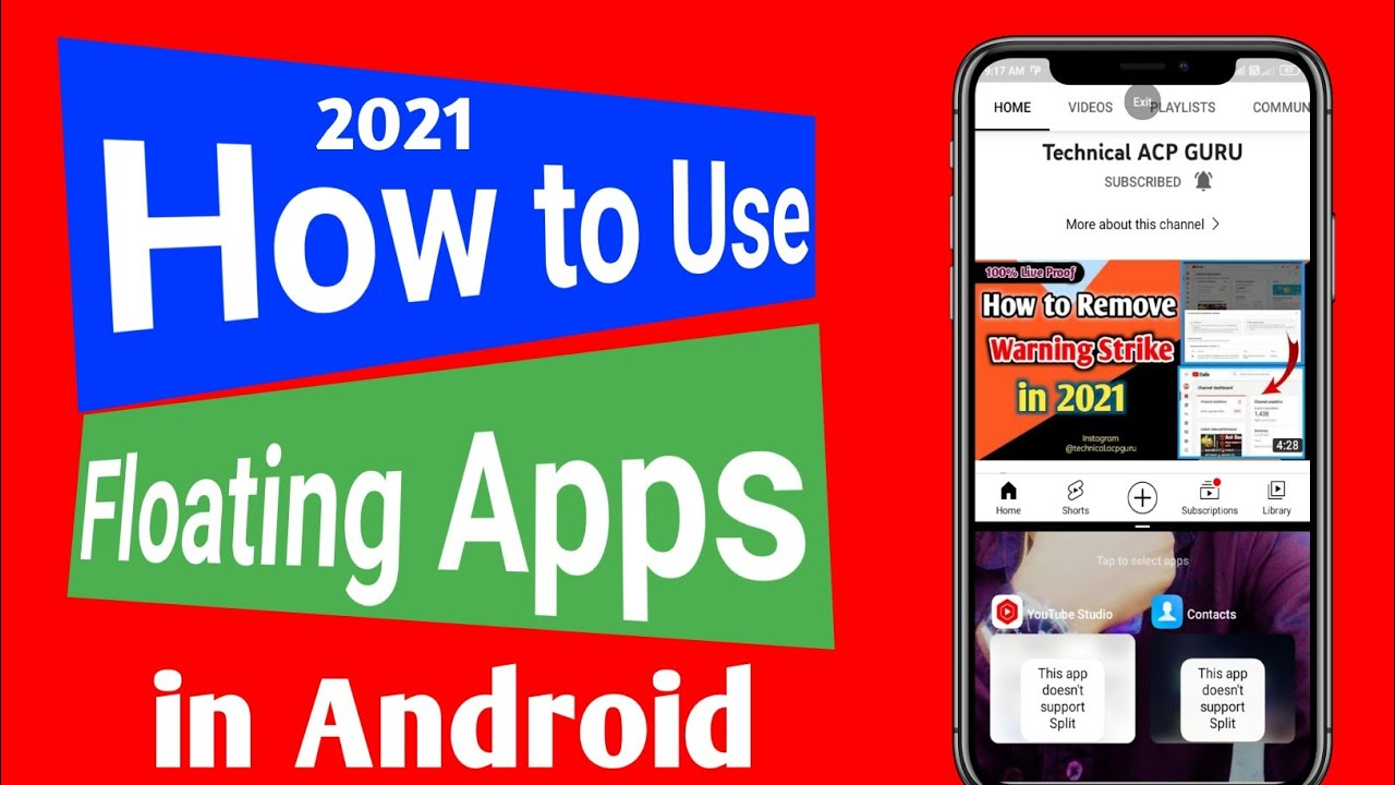 Floating App in Android in 2021 #short