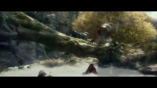 ★THE HOBBIT: Bombur Barrel Scene Bluray (1080p)★