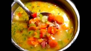 Leftover Christmas ham and vegetable soupLeftover Christmas ham and vegetable soup