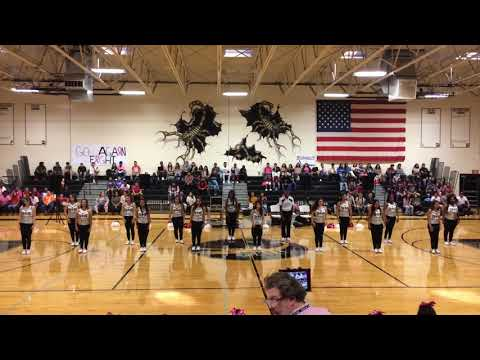 Pink Out Pep Rally Performance 10-13-17