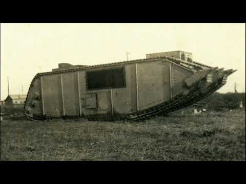Rare American Tanks Of Ww1 Youtube