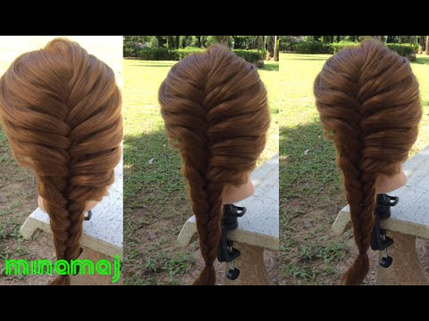 Hairstyles - Học Tết Tóc Đơn Giản Cho Bạn Gái