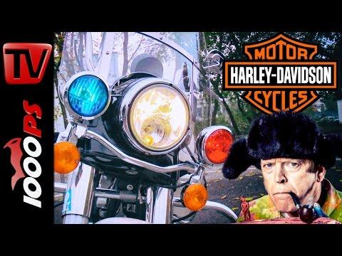 Polizei | Fahrtechnik | Police-Harley | Parcours