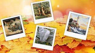 Вышивка и жизнь с 19 - 25 октября//Продвижение всех процессов//15й лист готов//Мороз и солнце