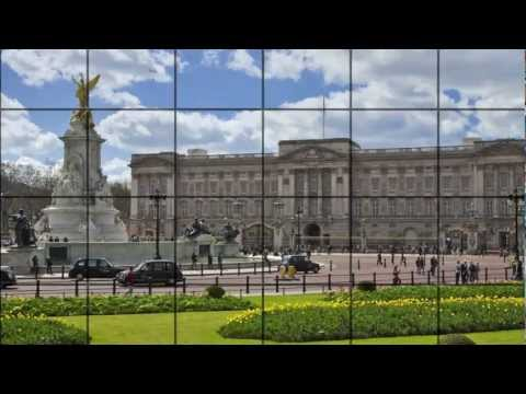 London: Buckingham Palace. Video tourist guide HD