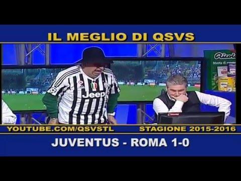 QSVS - I GOL DI JUVENTUS - ROMA 1-0  - TELELOMBARDIA / TOP CALCIO 24