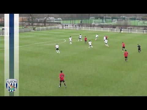 Dara O'Shea screamer for West Bromwich Albion Under-18s against Tottenham