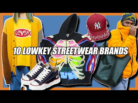 10 Lowkey STREETWEAR BRANDS You Should Know About 2020