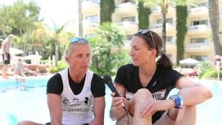 tritime Zielinterview mit Yvonne van Vlerken beim 70.3 Ironman Mallorca 2015