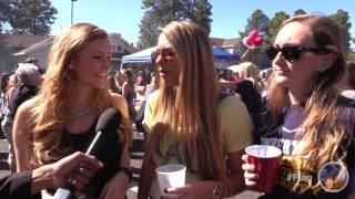 What better way to show school spirit than with a tailgate party? During family weekend, students and their families came together for the big game in a big way, with beer, food, and the enthusiasm to help the Lumberjacks defeat Montana State!!