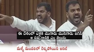 Minister Anil Kumar Once Again Shows His Anger towards TDP |  AP Legislative Council | PQ