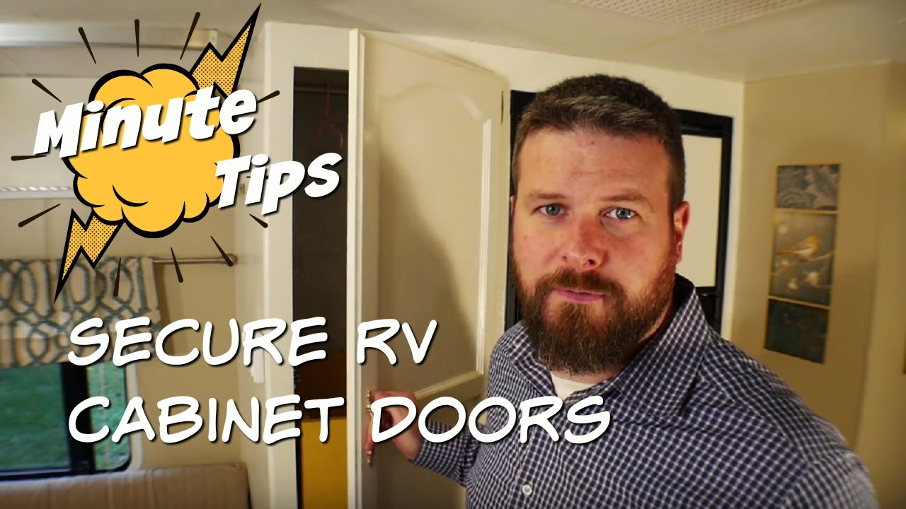 Minute Tips: Securing RV cabinet doors