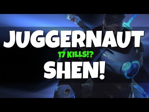 17 Kills with JUGGERNAUT SHEN! The Ultimate Scaling Build! (League of Legends)