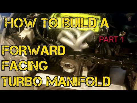 TFS: How To Build A Forward Facing Turbo Manifold Part 1 #TF