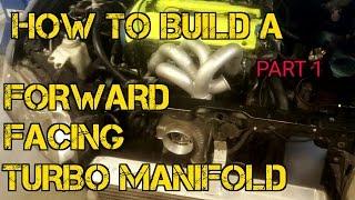 TFS: How To Build A Forward Facing Turbo Manifold Part 1 #TFSBoostFab