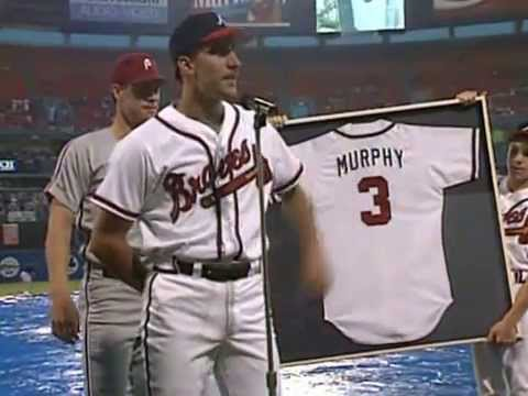 John Smoltz on Dale Murphy Night in Atlanta, 1991