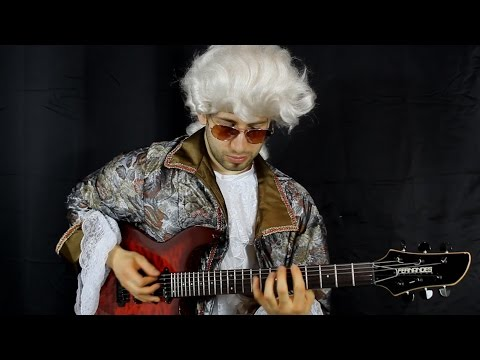 Paganini's Caprice No. 24 performed on electric guitar by Classicals Rocked