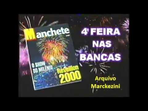 Comercial - Revista Manchete (2000)